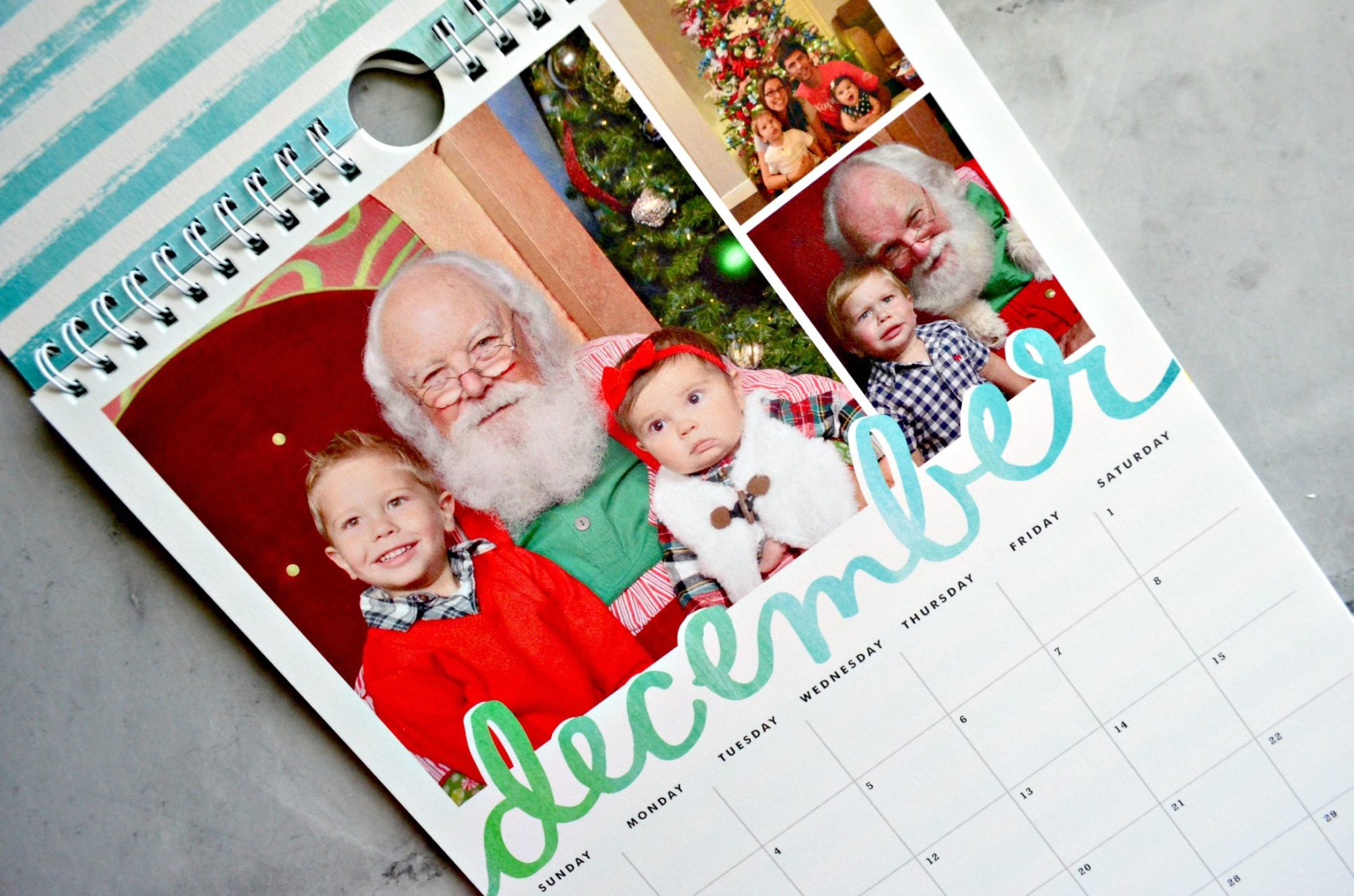 Minted Calendar December for Christmas
