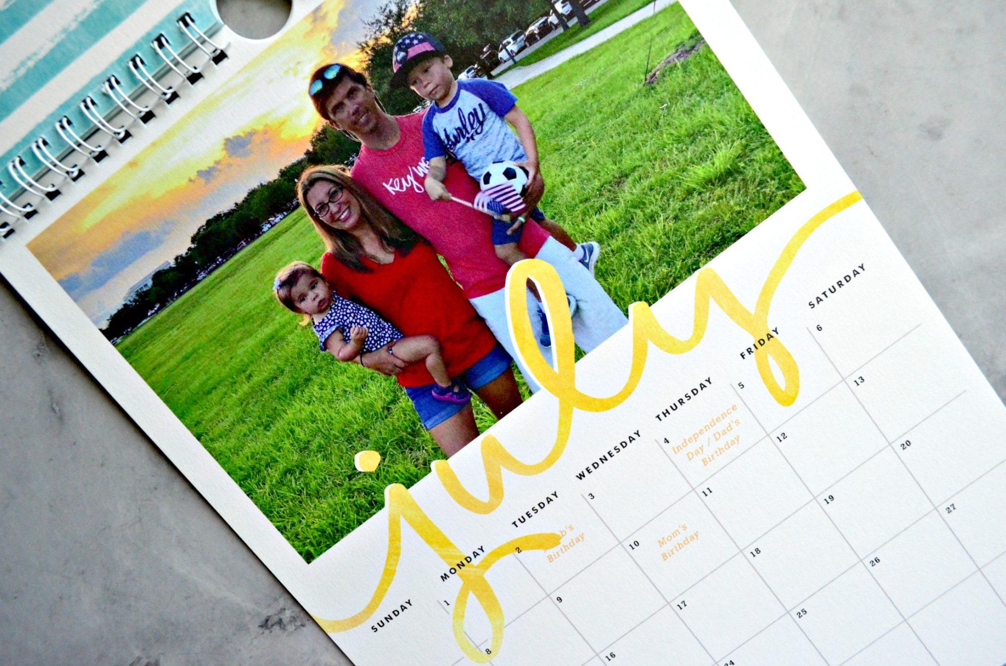 Minted Calendar July Patriotic