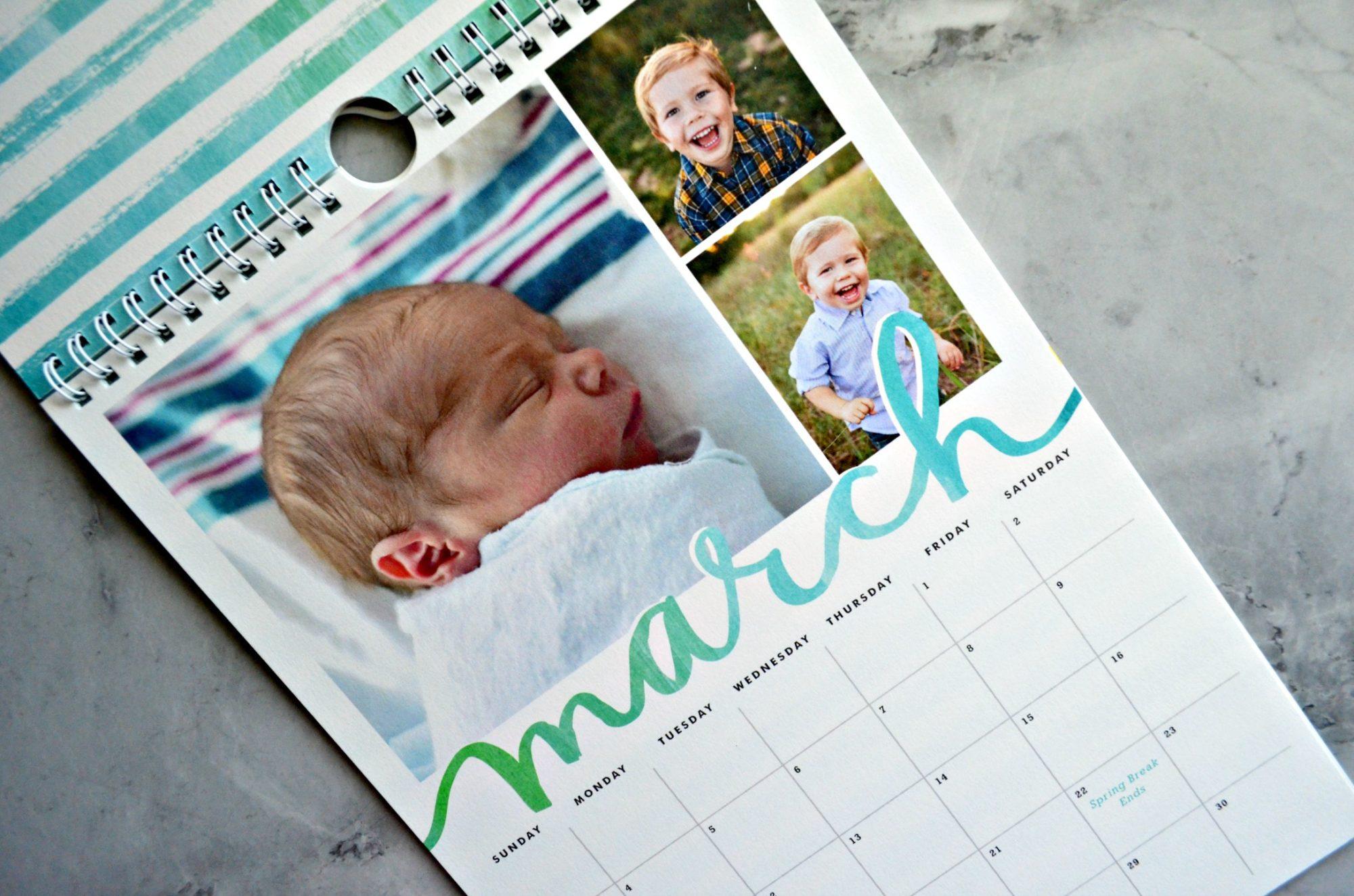 Minted Calendar March