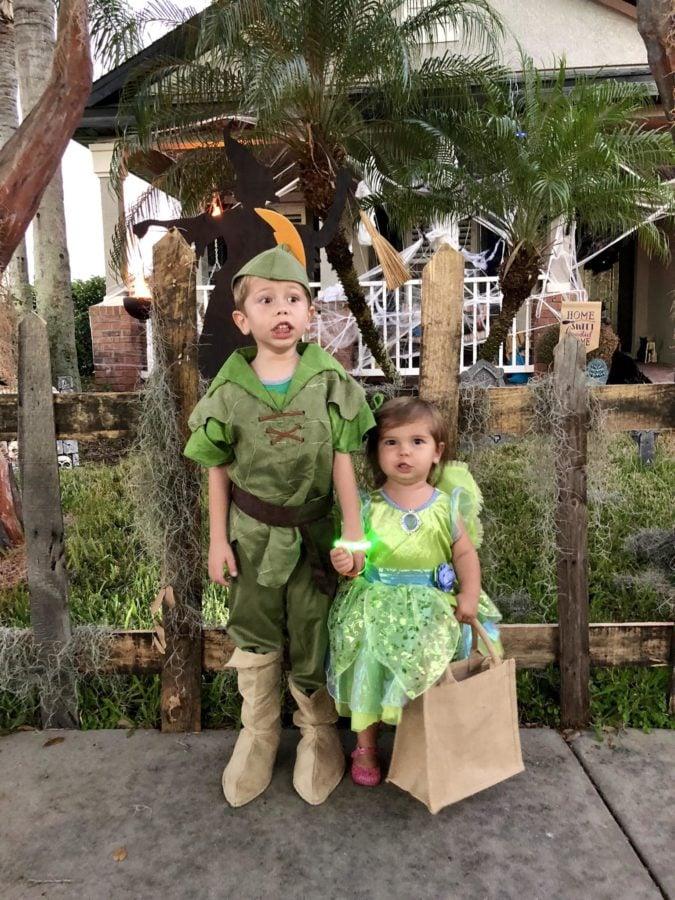 Peter Pan & Tinker Bell Costume