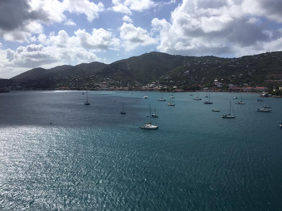 St. Thomas sailboats