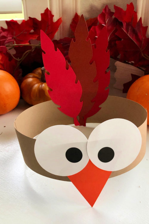 Turkey Paper Headbands Craft