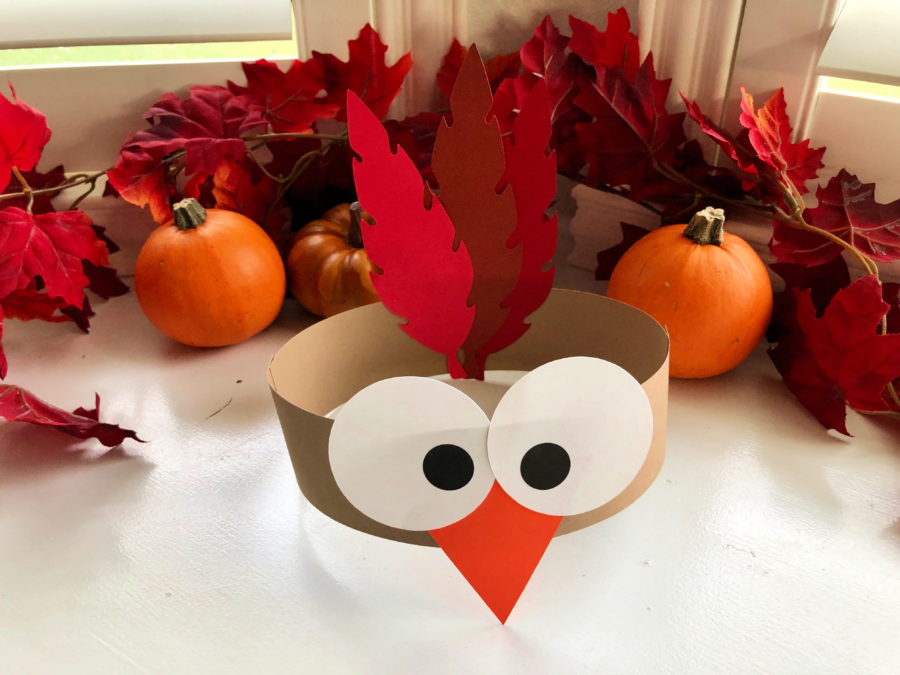Turkey Paper Headbands