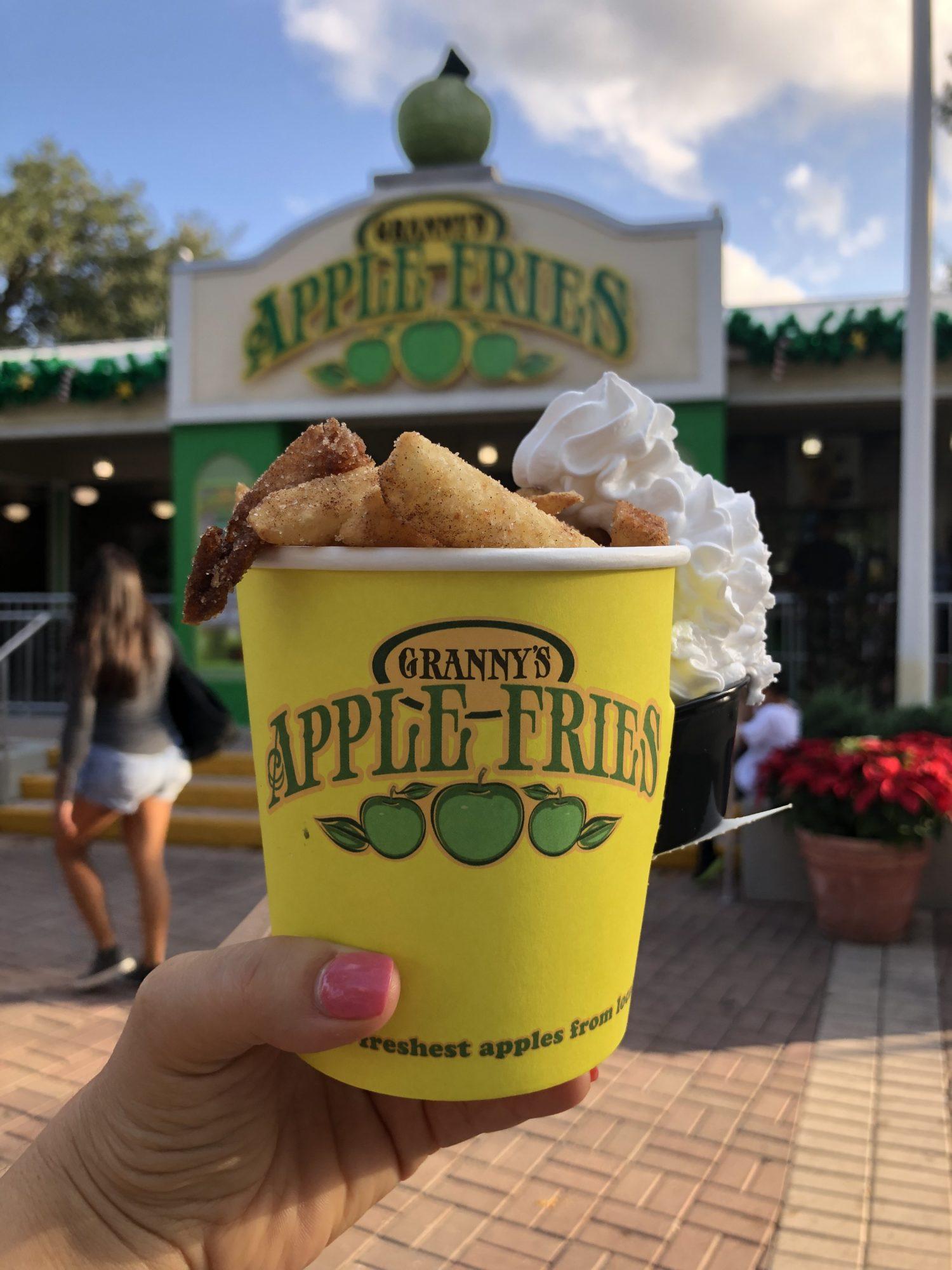 Granny's Apple Fries at LEGOLAND Florida