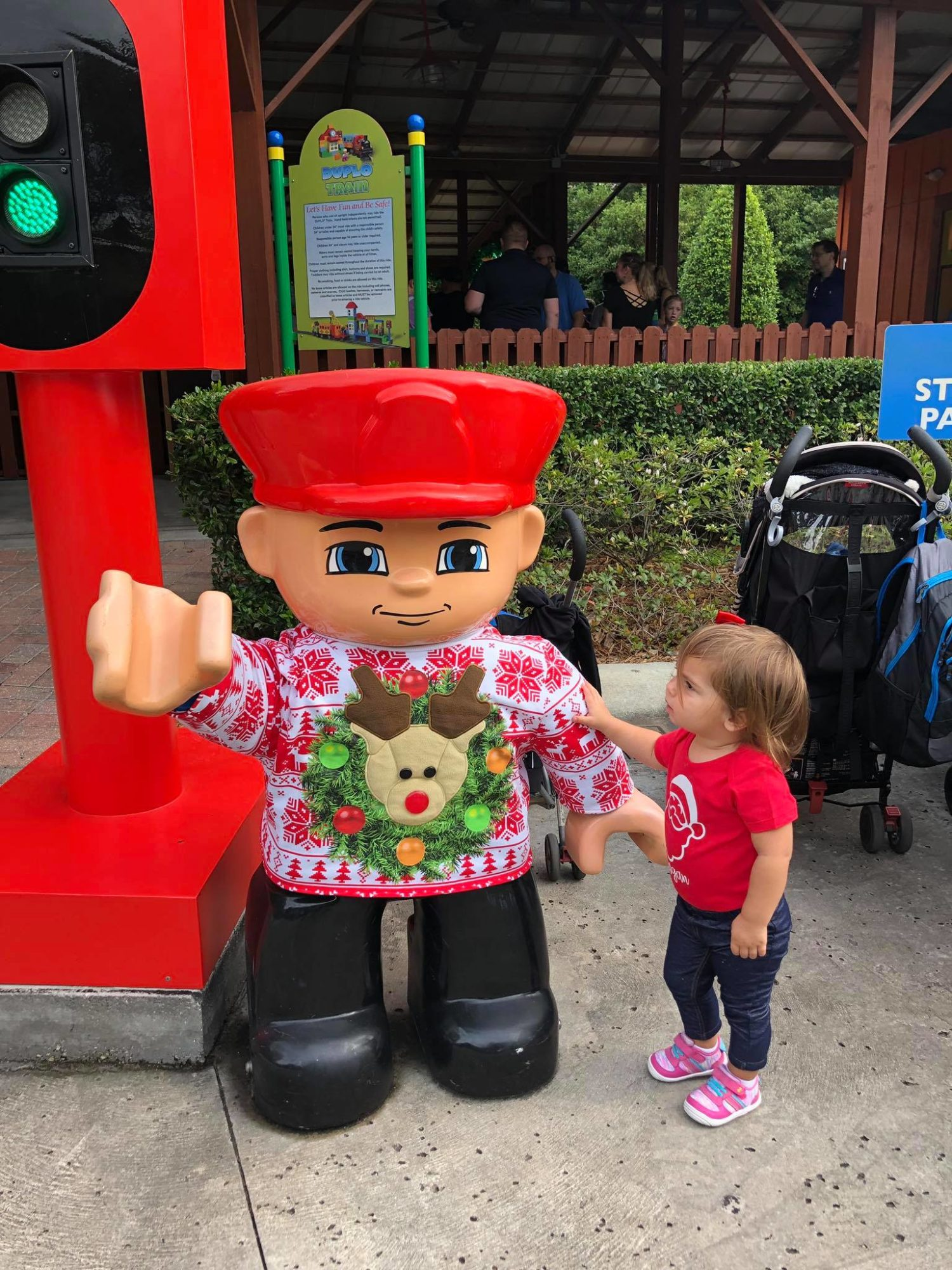LEGOLAND CHRISTMAS BRICKTACULAR DUPLO LAND