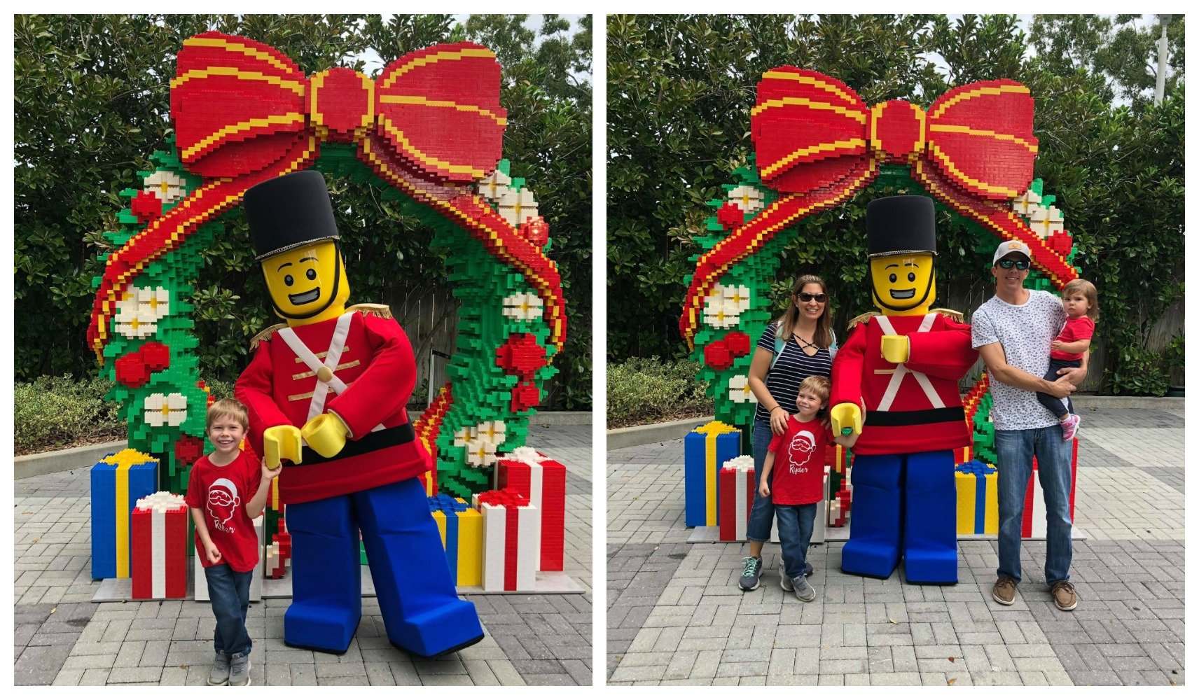 LEGOLAND CHRISTMAS BRICKTACULAR LEGO TOY SOLDIER