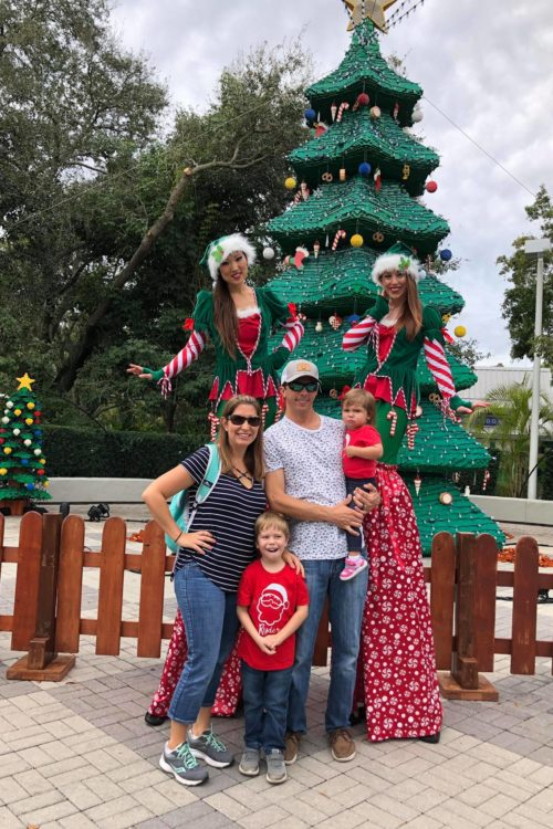 LEGOLAND CHRISTMAS BRICKTACULAR WITH STILT ELFS