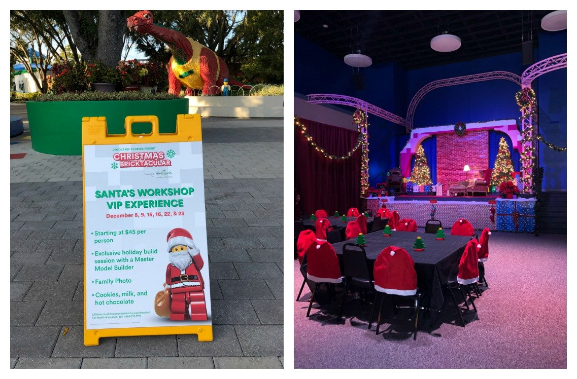 LEGOLAND Christmas Bricktacular Santa's Workshop VIP Experience