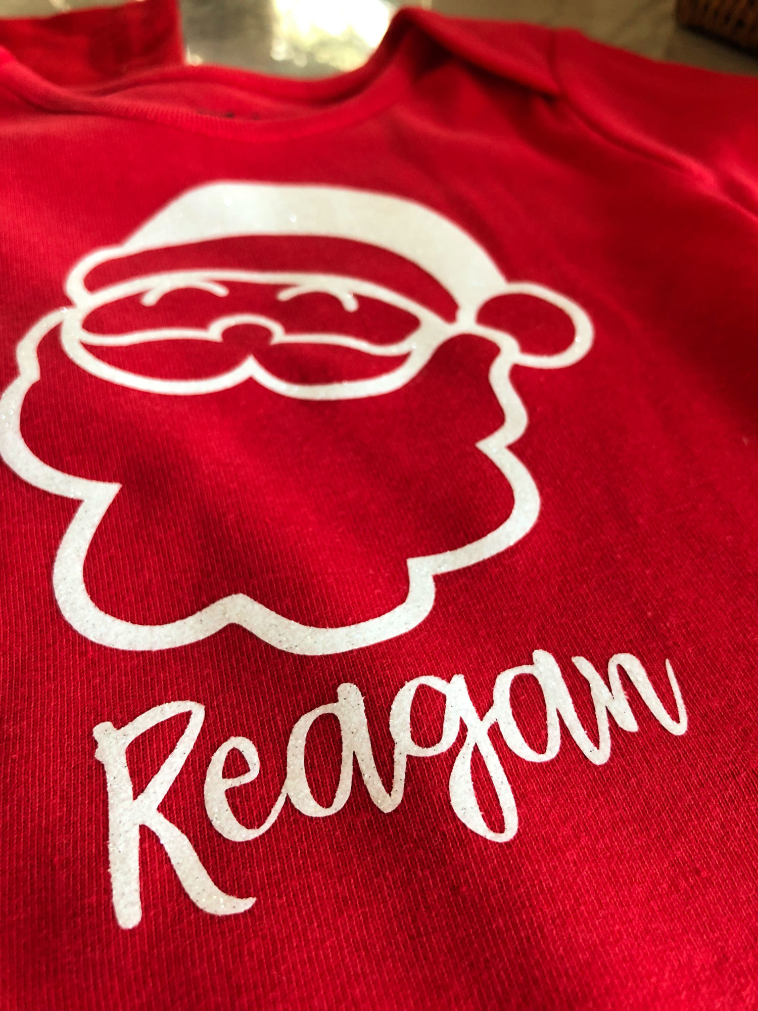 DIY Personalized Santa T-Shirt