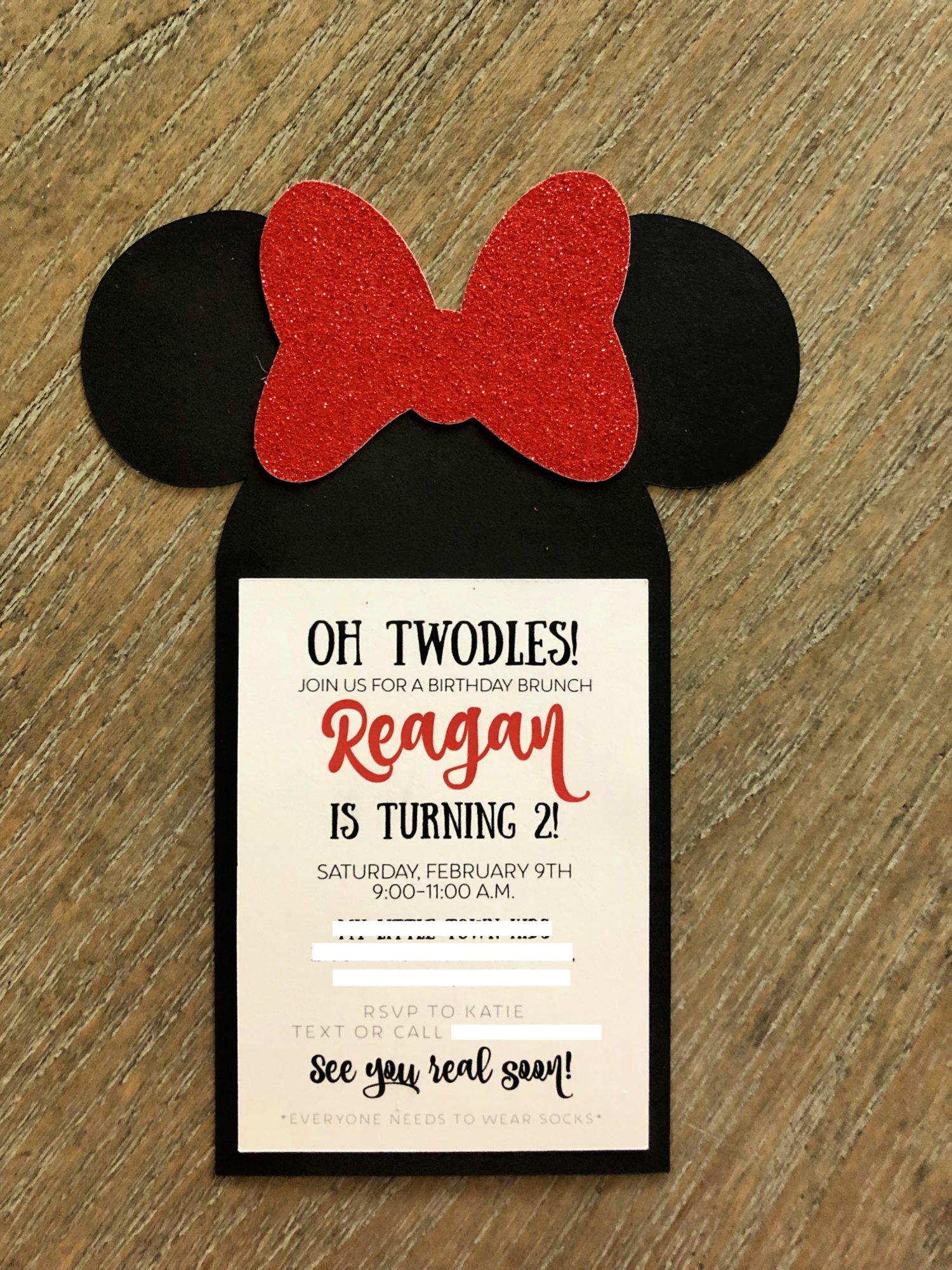 Diy Minnie Mouse Birthday Party Ideas Sew Woodsy