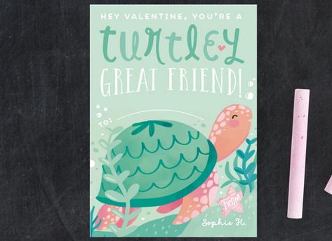 Turtley Great Friend Valentine