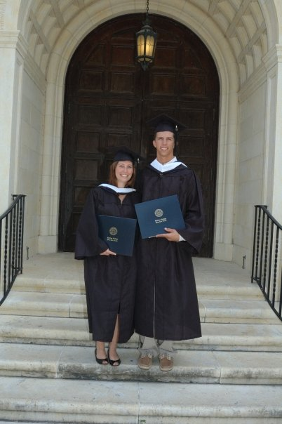 College Graduation from Rollins College