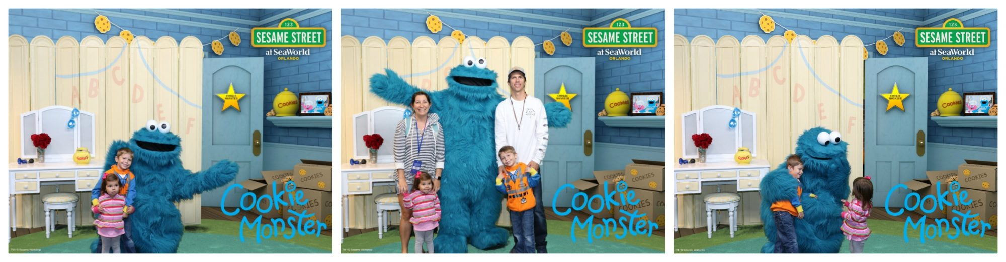 SESAME STREET AT SEAWORLD ORLANDO - Cookie Monster Photos