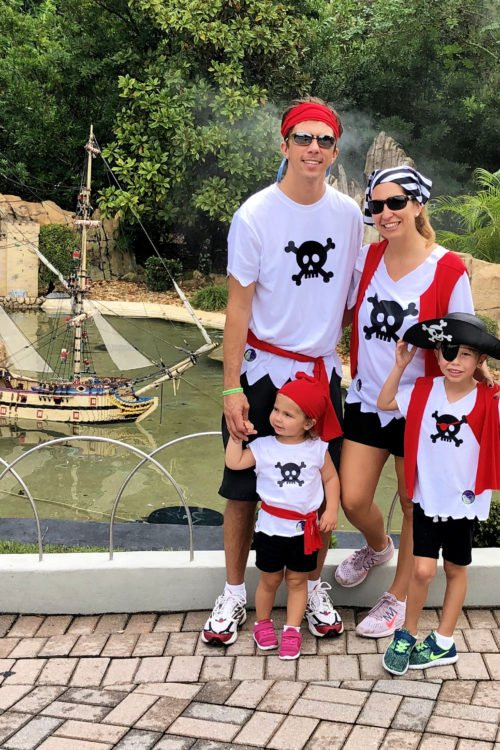 DIY Family Pirate Costume