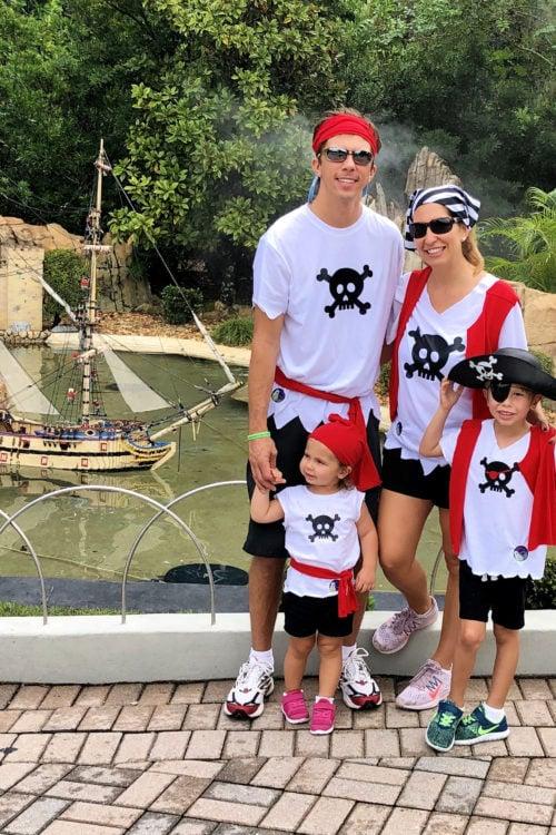 DIY Family Pirate Costume