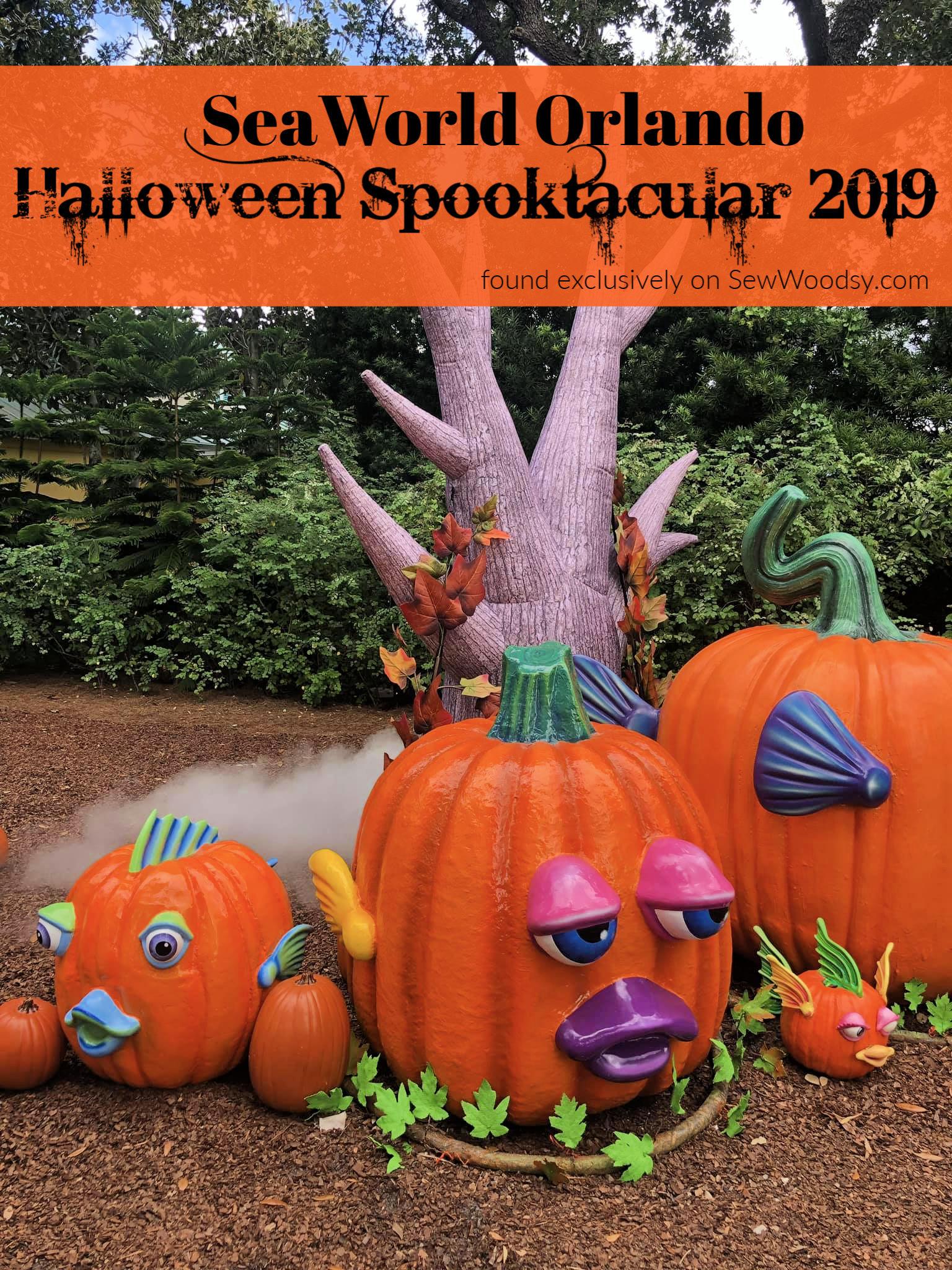 SeaWorld Orlando Halloween Spooktacular 2019